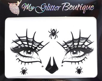 Superior Quality MGB Festival Face Jewels   Halloween Face Stickers   Metallic Stickers   Face Gems    Glitters   Party Dress Up   Pasties