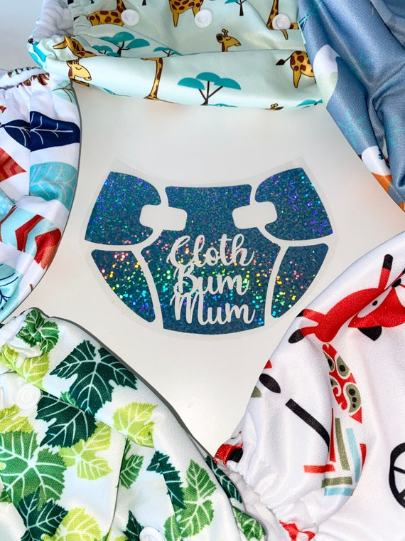 Cloth on my bum Milk in my Tum Worn by my mom Heat Transfer Vinyl design Put in NOTE TO SELLER the 3 colors of the design