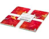 Hummingbird Lane Layer Cake by Lunn Studios for Robert Kaufman Fabrics 42 10 quot Fabric Squares (TEN-946-42)