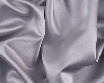 30 yards Ocean  Lamour Dull Bridal Satin  drapery dress fabric per yard