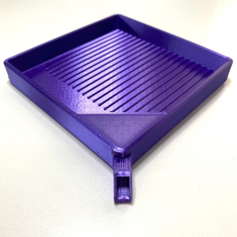 Diamond Drill Tray Dark Silk Purple Diamond Painting Accessories Diamond Painting Tray
