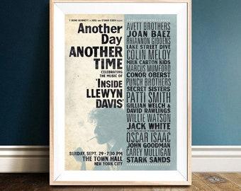 Oscar Isaac Inside Llewyn Davis Poster