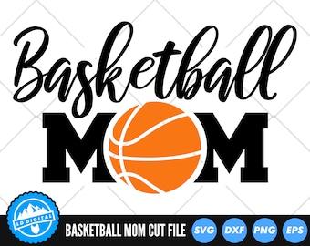 Basketball Mom SVG Files   Basketball Mum Cut Files   Basketball Vector Files   Basketball Vector   Basketball Clip Art