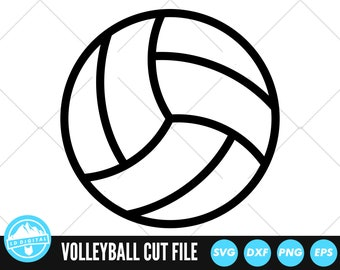 Volleyball SVG Files | Volleyball Cut Files | Volleyball Vector Files | Volleyball Vector | Volleyball Clip Art | CnC Files