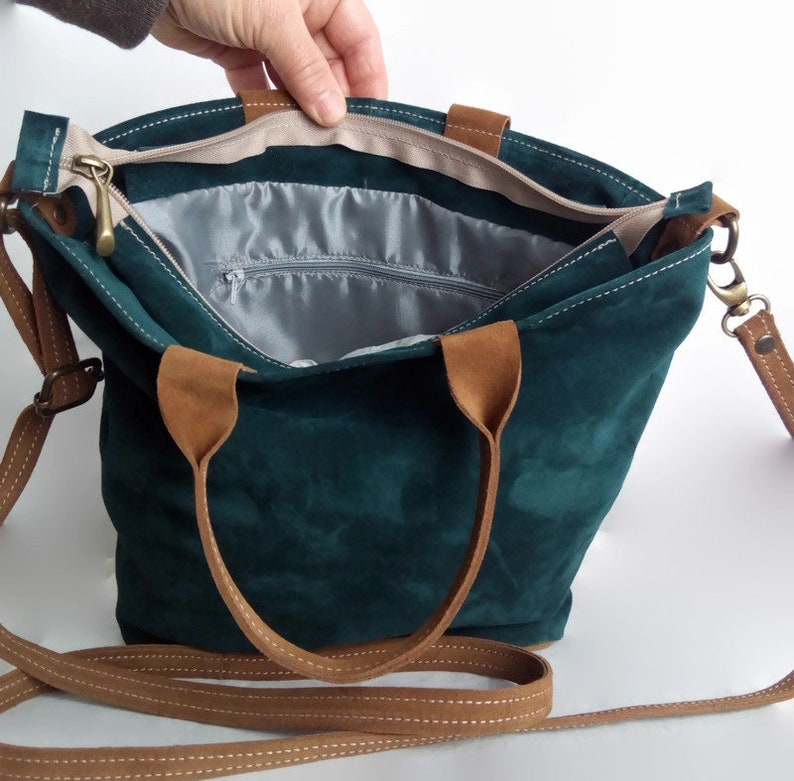 crossbody bag italian premium leather shoulder and hand bag multicolored leather suede bag unique and exclusive bag.