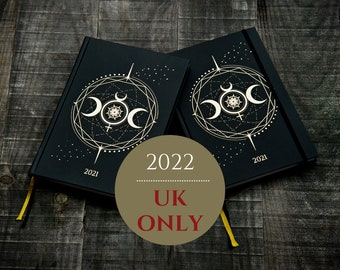 2 x 2022 COSMOPLANNER *Full Moon*   As Above So Below   Moon   Productivity planner   UK Shipping