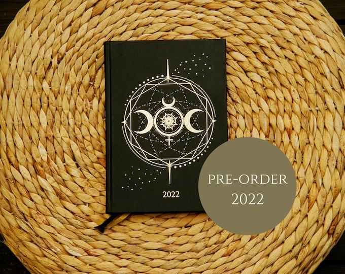 PRE-ORDER **2022 COSMOPLANNER *New Moon* | Cosmic Moon planner