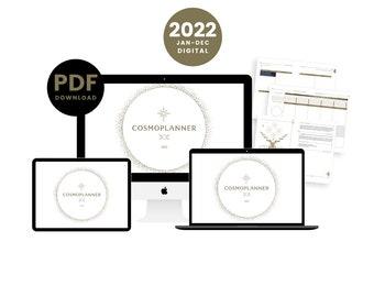 2022 Cosmoplanner   Digital Planner   PDF INSTANT DOWNLOAD