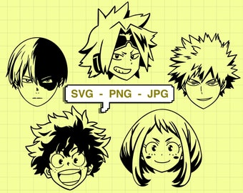 Download 44+ Anime Svg Free PNG Free SVG files | Silhouette and ...