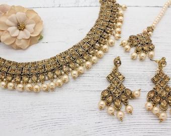 Precio más barato indio jumka jumki Pendiente Estilo De Boda Bollywood Chapado en Oro Reino Unido
