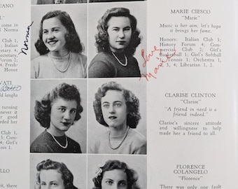 1945 High School Year Book