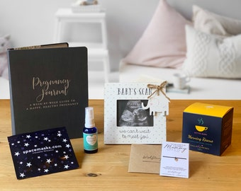 Pregnancy Gift Box First Trimester Pregnancy Pamper Package by Baboo Box Gift for Mum to be