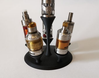 Evaporator Stand - Stand for Ecigarettes - Vape Atty Stand 3D Printed - Stand for 6 Atty- Stand for 6 Evaporators