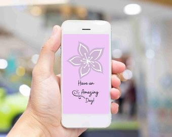 smart mobile iPhone wallpaper, gift for yourself, Motivational positive phrase, Digital background wallpaper for your smart phone/iPhone,