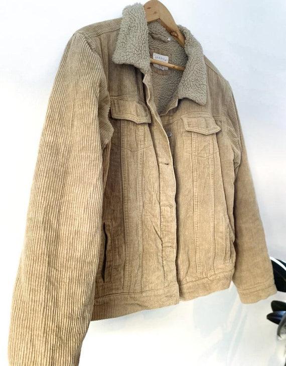 Vintage Style Corduroy Jacket, Medium Size Corduro