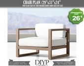 Patio chair Plan, Lawn chair, Outdoor chair, Garden chairs, Wicker chair, Chair cushions, Lounge chair, Outdoor chair plans, diy chair