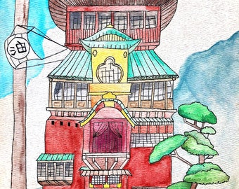 Spirited Away Fanart Etsy
