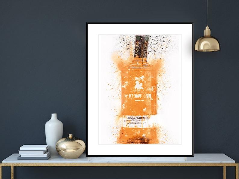 Whitley Neill Orange Wall Art Print