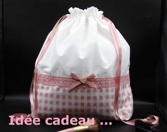Bag pouch XL storage lingerie / makeup / gift