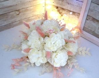 Table Center/Floral Composition for Wedding, Baptism, Communion, Reception ....