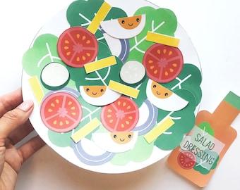 Salad Paper Craft Kit