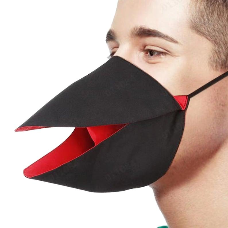 Duck Face Masks/  Bird Face Masks/ Duck  masks / bird mask image 1