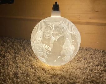 Custom Picture Ornament