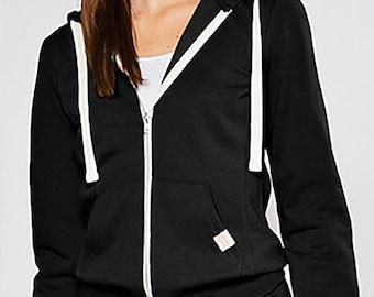Fleece Zip Up Hoodie Jacket with Kangaroo Pocket | Women's Fleece Jacket |  Fleece Hoodie | Matching Joggers