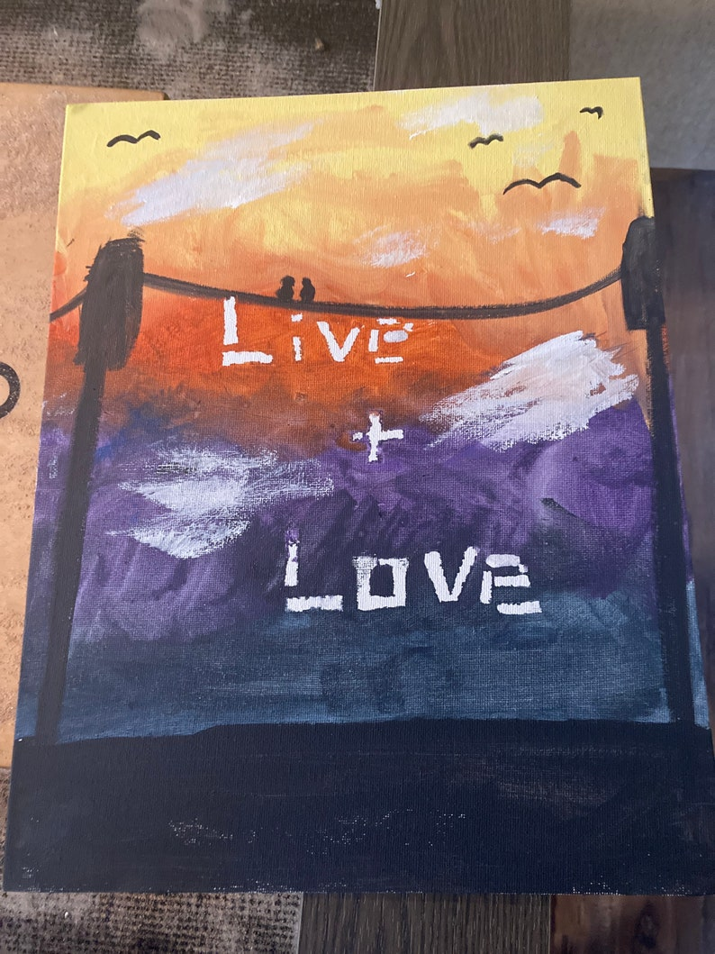 Love painting Live