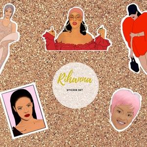 Rihanna Banner Drake Fenty Beauty Anti Kanye BadGirlRiRi Biggie Rap party Rihanna Silhouette Banner RiRi Fenty