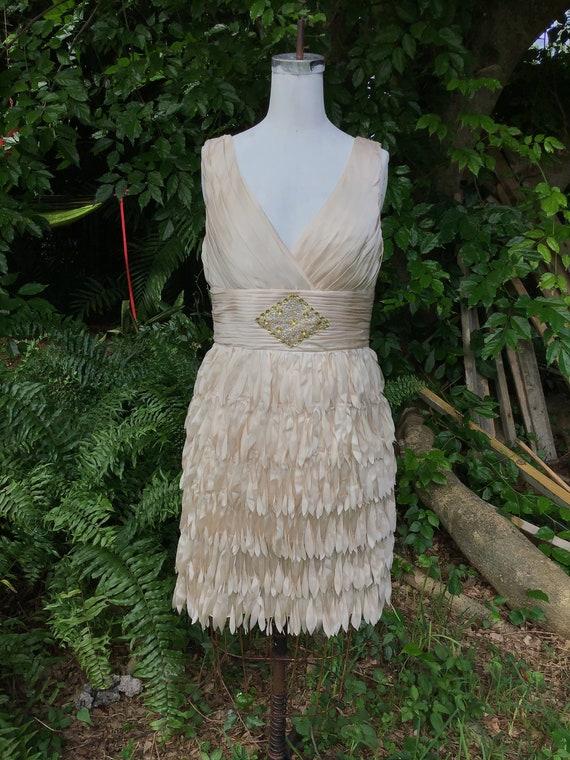 Designer JS  evening dress