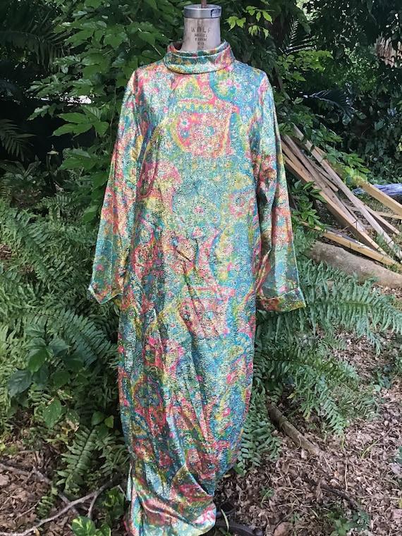 Vintage Mu MU 1960s kaftan dress