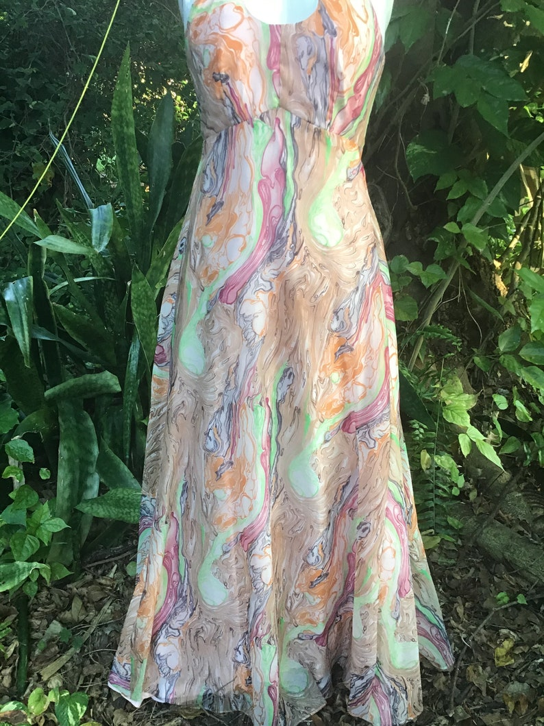 Vintage 60s maxi Dress