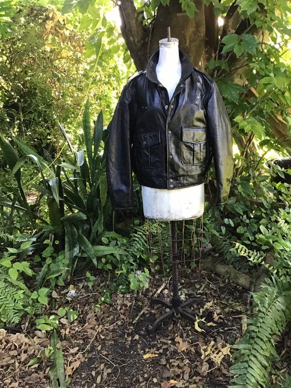 Men's Black Diesel  moto Jacket