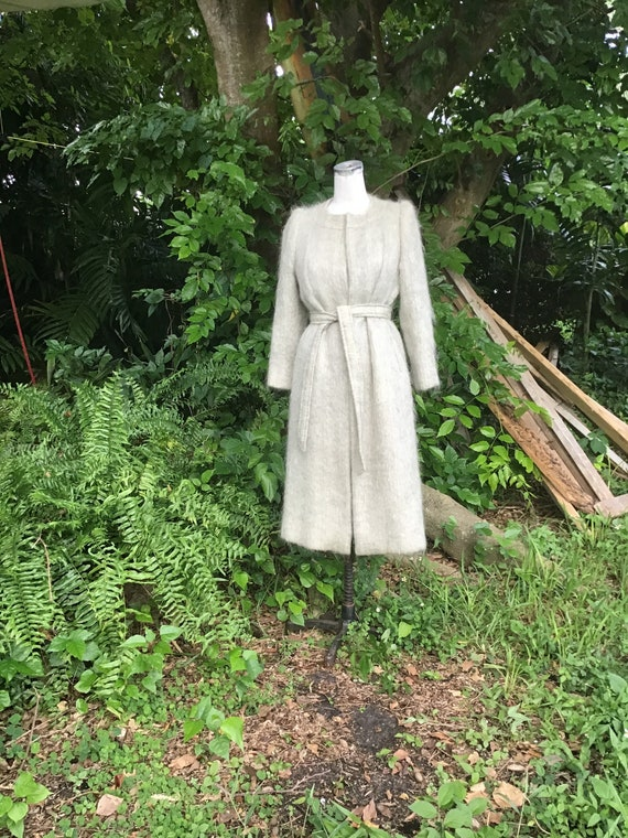 Bonwit Teller mohair coat