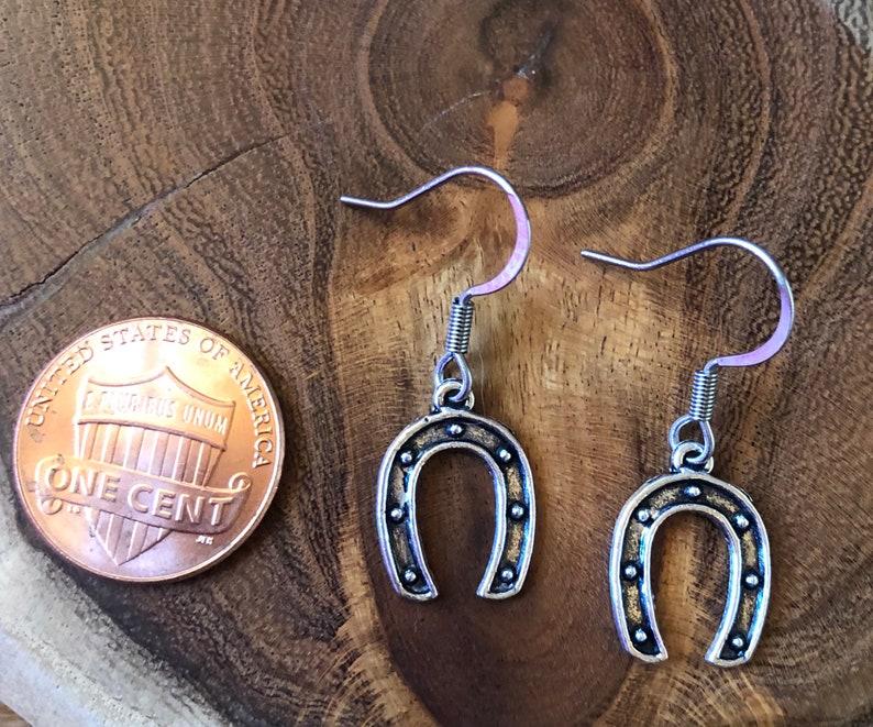 Horse Shoe Earring