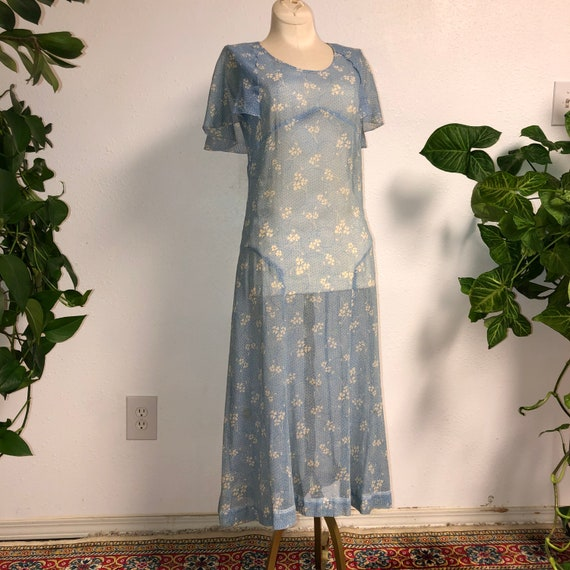 1930s Handmade Day Dress