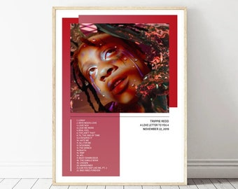 Art Poster Trippie Redd A Love Letter To You 3 Cover New Album 20x30 24x36 T229