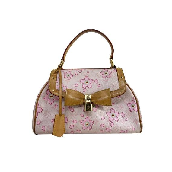 Cherry Blossom Sac Retro Bag