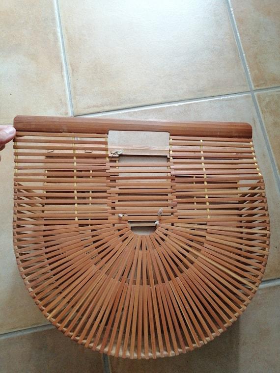 50s Bamboo Tiki purse