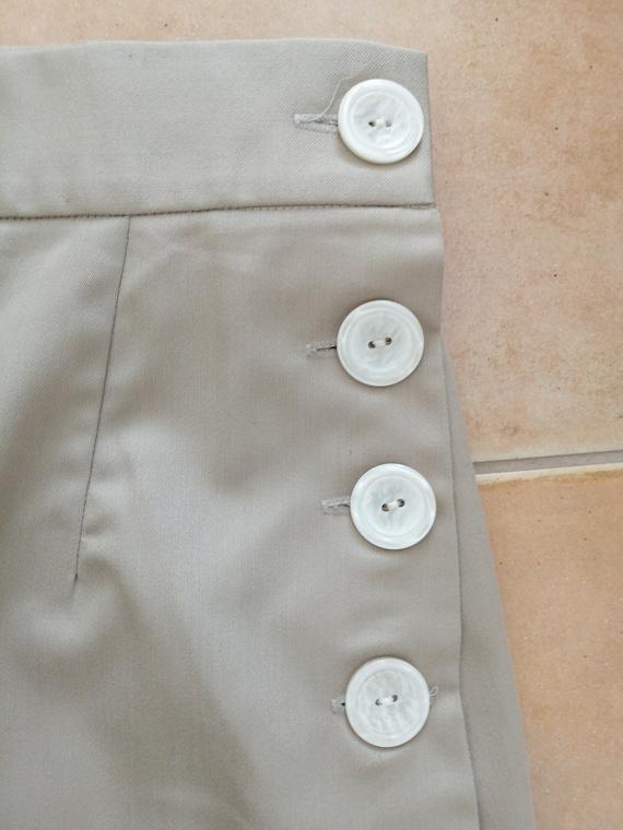 Beige 40s style pants - image 4