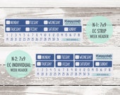 KIT-238 Add-Ons || Oh My Stars Kit Planner Stickers - 2020 Full Kits photo