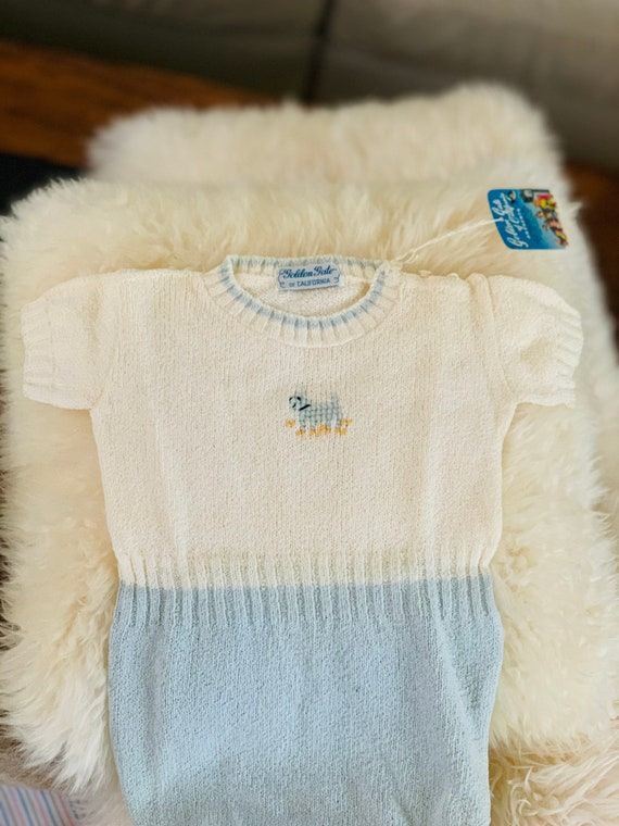 Baby clothes vintage 1950s NEW