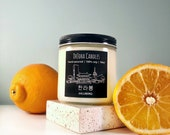 Hallabong - Korean Soy Candle - Seoul Scents Candle - Orange - 한라봉