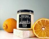 Hallabong - Korean Soy Candle - Seoul Scents Candle - Orange - 한라봉