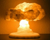 The Nuke Lamp / Night light / Deco lamp / Nuclear Explosion Mushroom Cloud 3D Printed