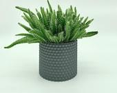 3D printed flower pot / Design flower pot / Modern flower pot / Modern décor in the house