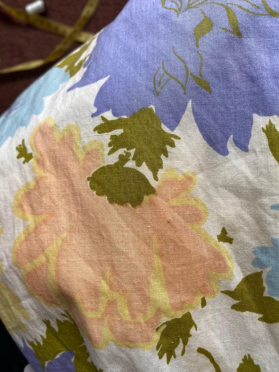 1960s Pastel Floral Dress XS, 60s Floral, 60s Sum… - image 9