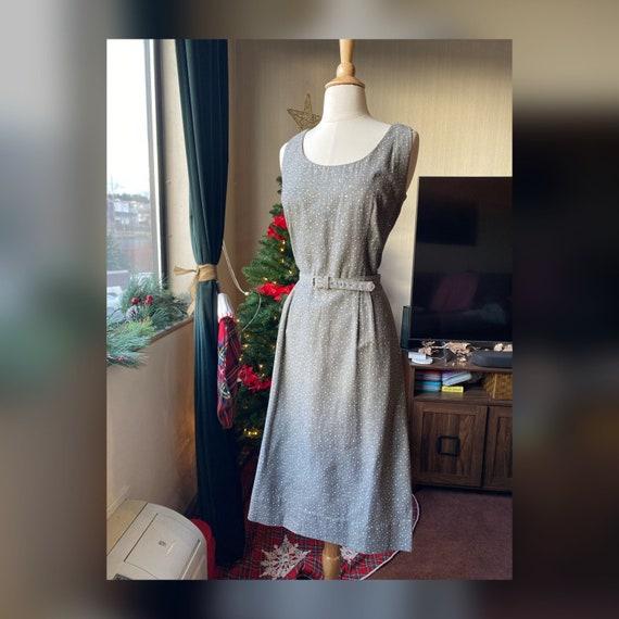 1950s Medium Sheath Dress, 50s Jerry Gilden Dress,