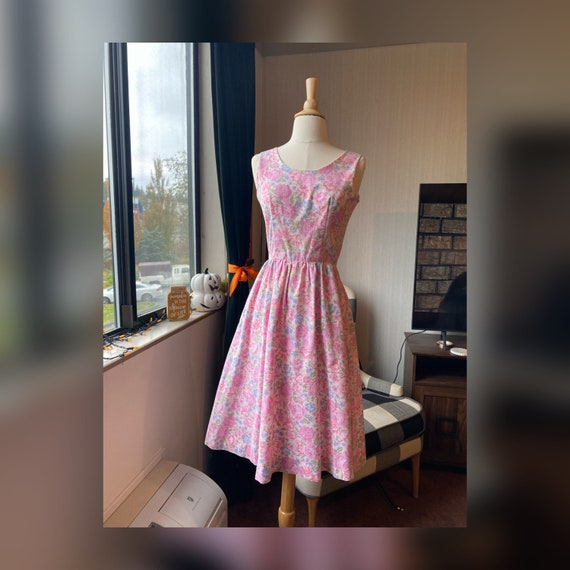 1980s does 1950s Sweet Day Dress